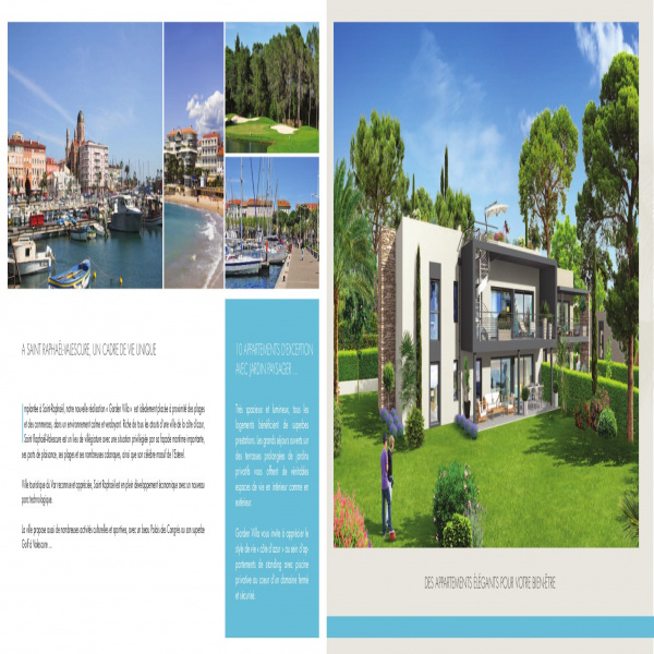 Programme neuf Rez de jardin Saint-Raphaël 83700